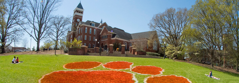 Bowman Field at Clemson University, South Carolina