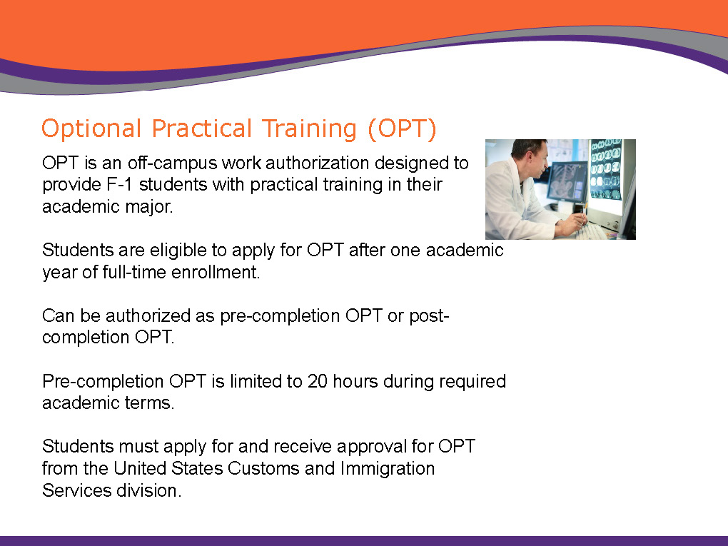 """post-completion opt before thesis Post completion opt: (opt) card """"may i work on campus during my grace period may i use cpt if i find a job before my opt starts."""