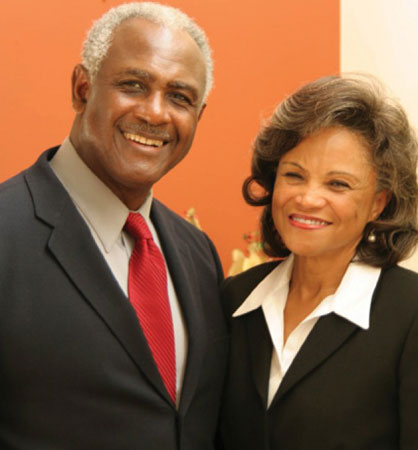 Harvey and Lucinda Gantt, Gantt Multicultural Center, Clemson University, Clemson SC