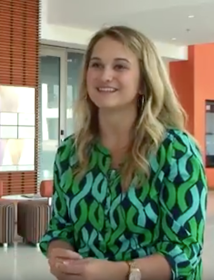 Madison Sandway talks about her impression of Clemson education faculty.