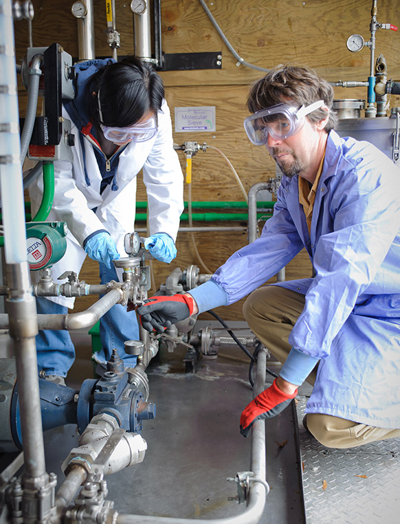 Get involved in Clemson's undergraduate research program, called Creative Inquiry. We currently have projects going on related to campus wastewater treatment and value-added co-products from biofuel waste products.