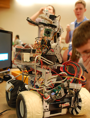 Lead your own course to meet yearly IEEE challenges and compete against teams from universities across the Southeast. Participate multiple times and gain hands-on experience and leadership skills.
