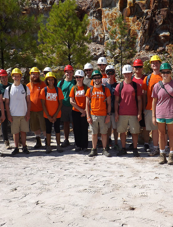 Geologists, hydrogeologists and scientists from other universities, the USGS and consulting companies join Clemson faculty to facilitate the Hydrogeology Field Camp. The trips and exercises provide insights into researching hydrologic issues.