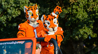 Behind the mask at Clemson University, South Carolina