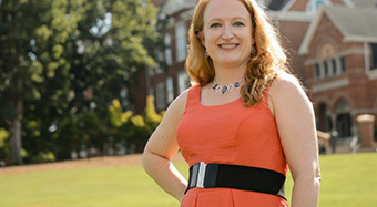 A mother's inspiration at Clemson University, South Carolina