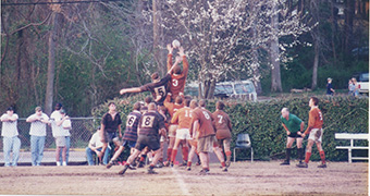 Rugby team at Clemson University, South Carolina