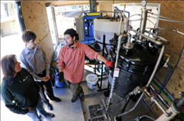 Biodiesel at Clemson University, Clemson South Carolina