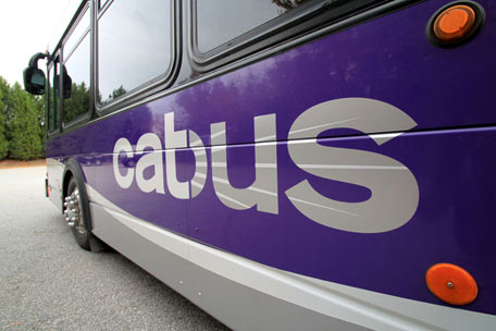 The Clemson Area Transit (CAT) public bus system is a fare-free service that operates throughout Clemson, Pendleton, Anderson, Seneca and Central.