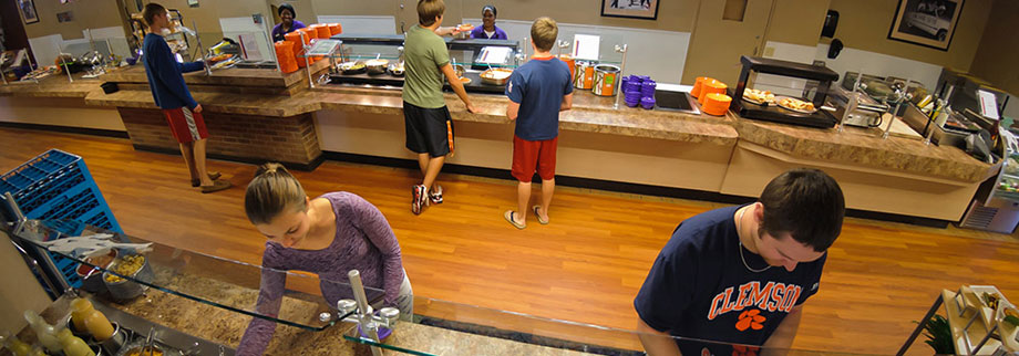 Clemson House Dining at Clemson University, Clemson South Carolina