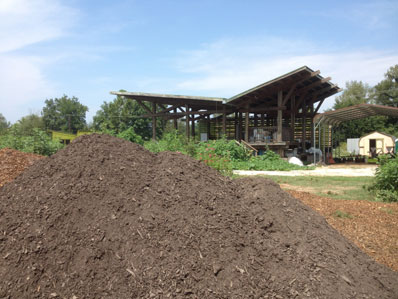 Composting at Clemson University, Clemson South Carolina