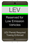 Low Emission Vehicle (LEV) at Clemson University, Clemson South Carolina