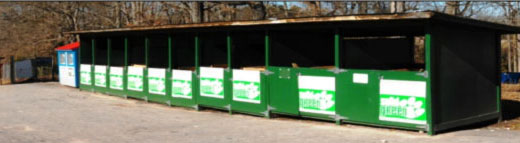 Recycling at Clemson University, Clemson South Carolina
