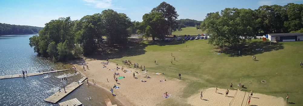 Y Beach at Clemson University, South Carolina
