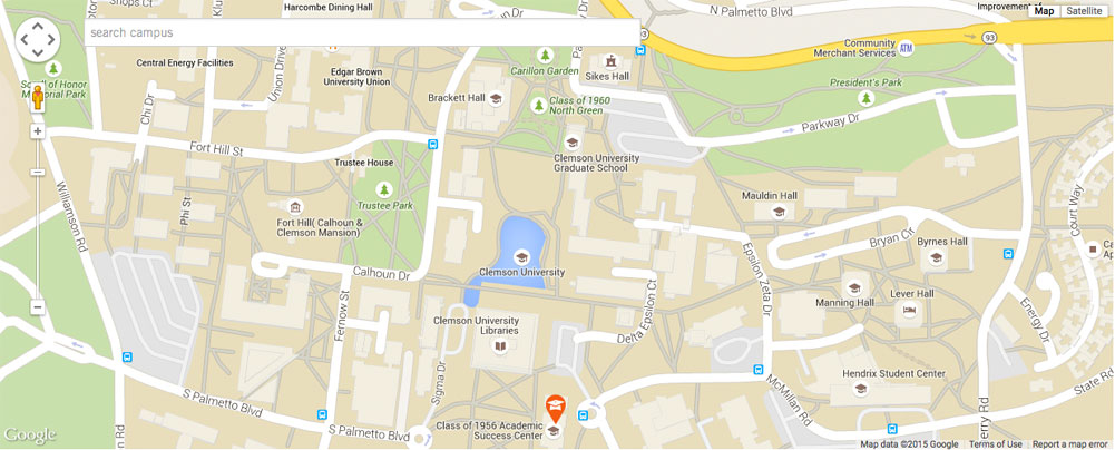 Where Is Clemson University Located On The Map Contact Us | Clemson University, South Carolina Where Is Clemson University Located On The Map