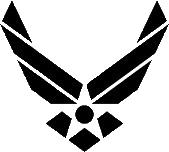 Air Force logo.