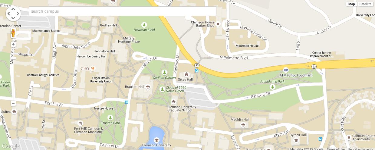 Google Campus Map