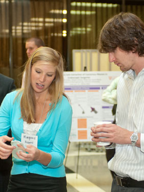 Bioengineering students working together in lab at Clemson