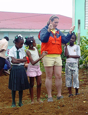 Travel to Dominica with professor Brenda Vander Mey to study issues surrounding food security, youth, and community and environmental sustainability.