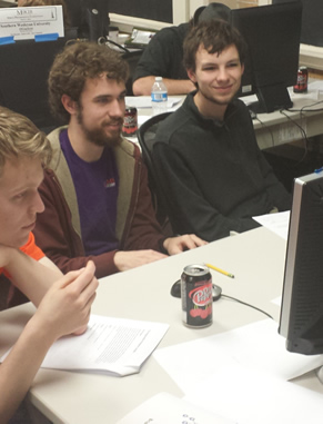 Clemson's student Association of Computing Machinery (ACM) chapter connects students with one another and professionals already in the field.