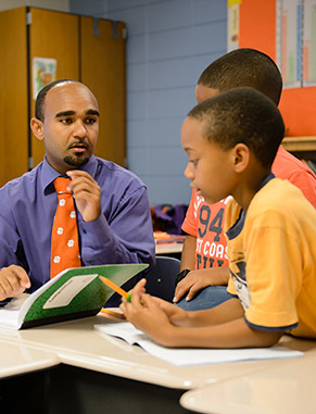 America Reads is a program that allows work-study students and student volunteers to tutor children at Clemson Elementary School. The University has developed a partnership with this school and its after-school program.