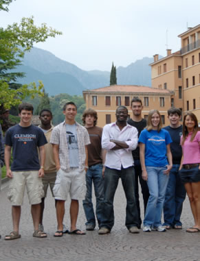 Each summer, several undergraduate physics majors travel to Paderno, Italy, to study theoretical and experimental surface physics. They engage in hands-on experimental training at the Surface Physics Laboratory of Elettra in Trieste.
