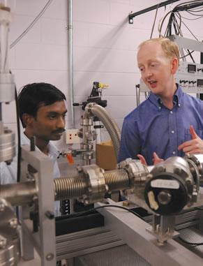 We have a world-class user facility that delivers highly charged ions to targets of many kinds and purposes.