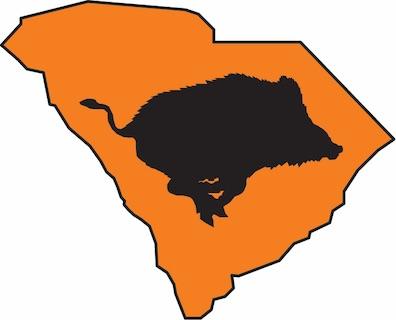 Sc Wild Hog Task Force Logo