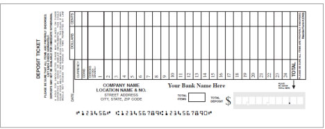 wells fargo deposit slip Deposit Procedures | Clemson University, South Carolina