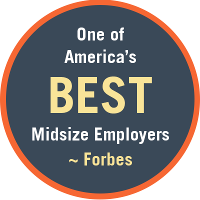 One of America's Best midsize employers
