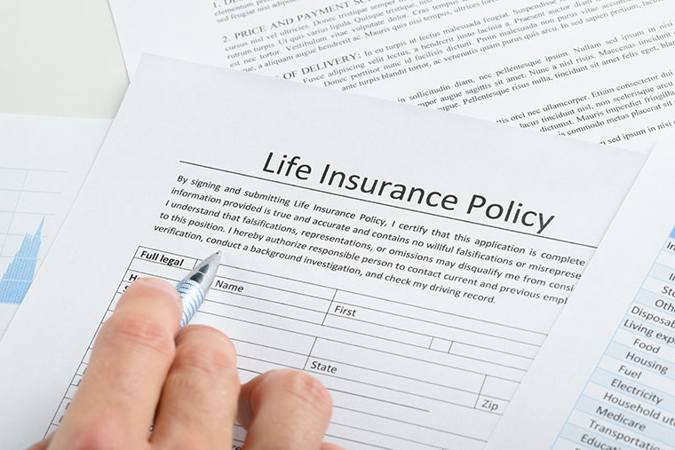 life insurance form