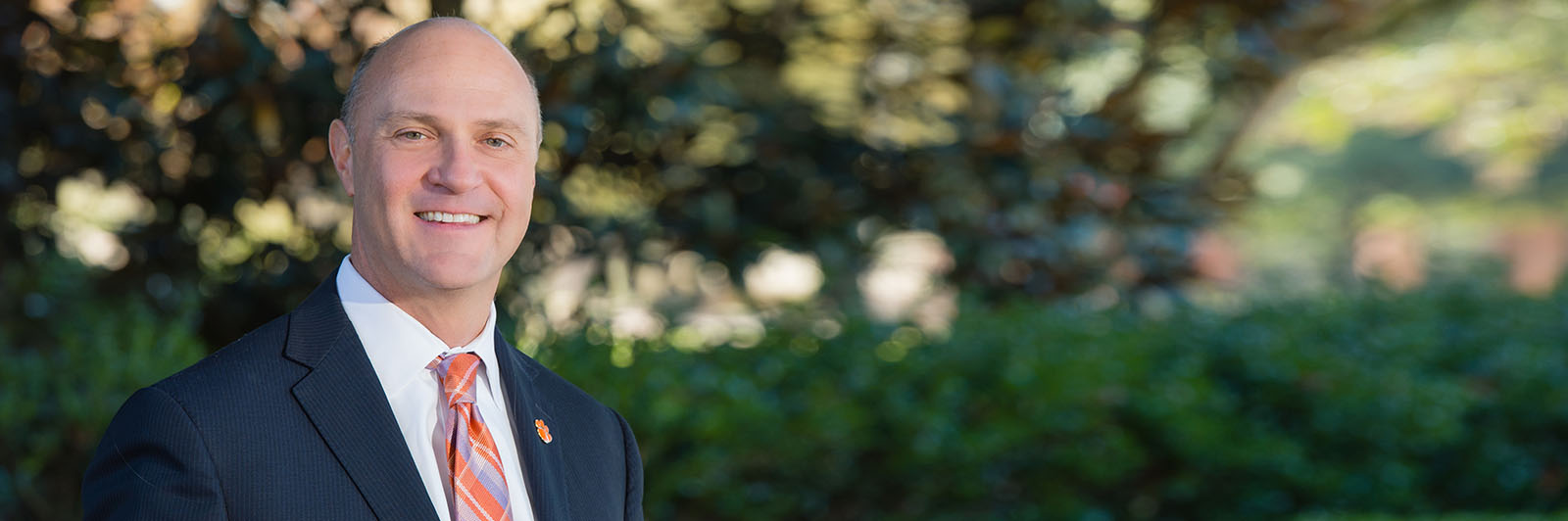 President Clements at Clemson University, South Carolina