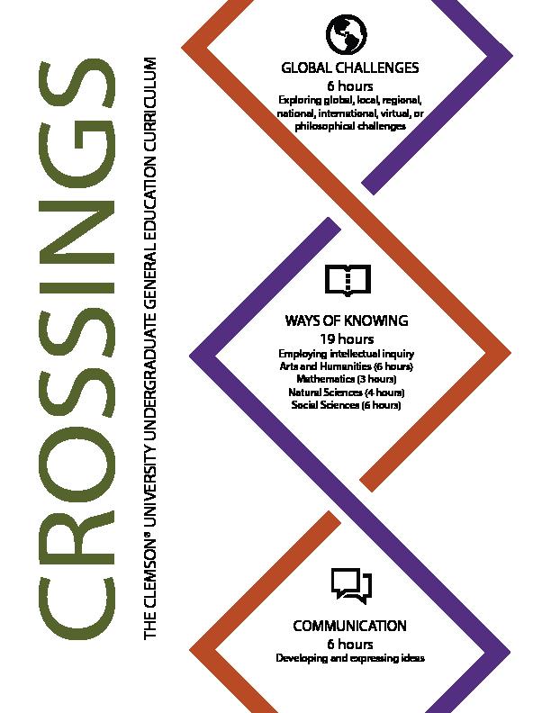 Clemson Calendar Fall 2022.About Crossings